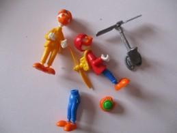 Kinder Lot Pour Pieces Donald Et Ses Amies ( Geotrouvetou ) 2 - Montables