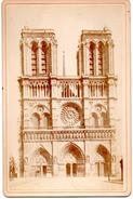 Notre Dame De Paris ( Photo Sur Carton De 16,5 Cm Sur 10,9 Cm) - Lieux