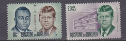 Burundi 1966 John Kennedy 2v ** Mnh (33778) - 1962-69: Ongebruikt