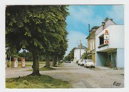 76 - LA LONDE / PLACE DE L'OURAIL - STATION SERVICE A&O - AUTO RENAULT 4CH - Sonstige Gemeinden