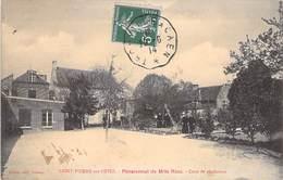 14 - SAINT PIERRE SUR DIVES - Pensionnat De Melle Riou - Cour De Récréation - France