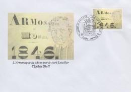 Enveloppe 1996 N° 2664 Avec FDC(prévente) - Armonaque Dé Mons - 05 - FDC
