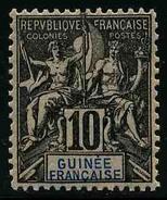GUINEE FRANCAISE - YT 5 * - TIMBRE NEUF * - Guinea Francese (1892-1944)