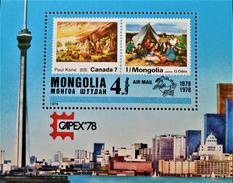 """CAPEX'98"" - NEUF ** - YT BL 54 - MI BL 54 - Mongolië"