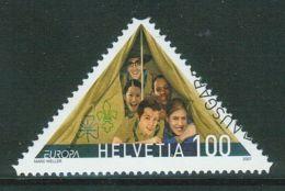 Suisse // Schweiz// Switzerland// 2007  // 100 Ans Du Mouvement Scout  , Oblitéré 1er Jour  No. 1230 - Used Stamps