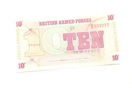 (AR10) Billet De 10 PENCE - BRITISH ARMED FORCES - Altri