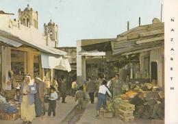 ISRAEL - Market Street - Le Marché - CPM Animée - BB - Israele