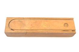 Ancien Plumier En Bois, Décoration Classe D'école Années 1930 / 1950 - Altri