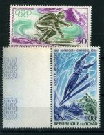 TCHAD  (  AERIEN ) : Y&T N°  44/45  TIMBRES   NEUFS   SANS   TRACE  DE  CHARNIERE , A  VOIR . - Chad (1960-...)