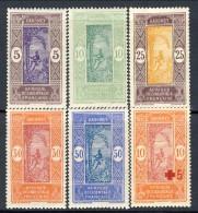 Dahomey 1915 E 1922 Lotto. Serie N. 61-64 MH E N. 60 C. 5+10 Pro Croce Rossa MNH Catalogo € 8,80 - Unclassified