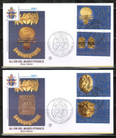 VA 2001 MI 1386-89 FDC - FDC