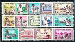 Zanzibar  Nº 328/41 Nuevo - Zanzibar (1963-1968)