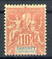 Dahomey 1900 Tipi Sage N. 2 C. 10 MH Catalogo € 6,75 - Unclassified