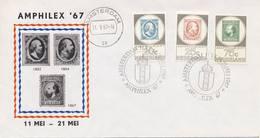 Amphilex '67 - Blanco / Open Klep (1967) - Briefe U. Dokumente