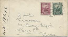HAÏTI - 1943 - ENVELOPPE AIRMAIL De PORT AU PRINCE Pour PARIS - Haiti