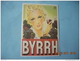 CLOUET    10643  BYRRH  APERITIF  AUGER  1930 - Advertising