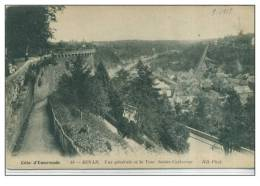 22 DINAN Vue G?n?rale Et La Tour Sainte-Catherine - Dinan