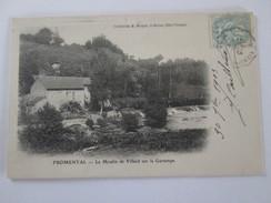 Fromental  87  Le Moulin De Villard   Sur La Gartempe   VILLARD GARTEMPE - France