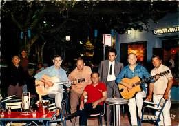 -ref-T293- Corse Du Sud - Ajaccio -  Le Pavillon Bleu Chez Paulo Quilici - Chants Et Guitares  - Musique - Spectacle - - - Ajaccio