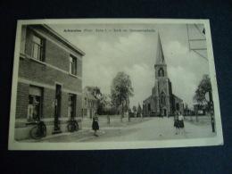 Pstk3445 : Achterolen Olen Oevelseweg - Kerk En Gemeenteplaats - Olen