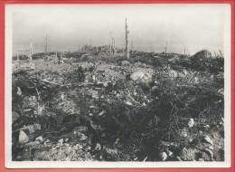 Photo Catonnée D´époque - HARTMANNSWEILERKOPF - VIEIL ARMAND - Champ De Bataille - Photographe THANN - 2 Scans - Guerre, Militaire