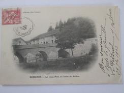 BESSINES Le Vieux Pont  Et L Usine De PAILLOU    Sur La Gartempe   VILLARD GARTEMPE - Bessines Sur Gartempe