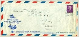 Nederlandse Antillen - 1952 - 1000e Vlucht Curacao - Amsterdam - Curaçao, Nederlandse Antillen, Aruba