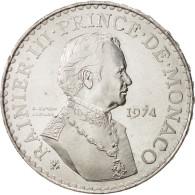 Monaco, Rainier III, 50 Francs, 1974, SPL, Argent, KM:152.1 - 1960-2001 Nouveaux Francs