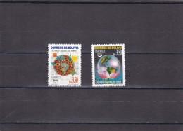Bolivia Nº 1036 Al 1037 - Bolivia
