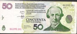 ARGENTINA   50 PESOS  LECOP  2006    VF NO P.h. - Argentine