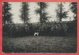 Photo Militaire Allemande D´ époque - BANCOURT ( 62 ) - Soldats Allemands - Guerre 14/18 - 3 Scans - Guerre, Militaire