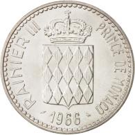 Monaco, Rainier III, 10 Francs, 1966, SPL+, Argent, KM:146 - 1960-2001 Nouveaux Francs