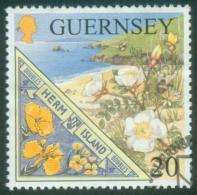 Guernsey  1999  Insel Herm, Europa  (1 Gest. (used))  Mi: 808 (0,80 EUR) - Guernesey