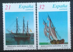 ESPAÑA 1997. Barcos De época. Sellos De Hojitas. NUEVO - MNH ** - 1931-Hoy: 2ª República - ... Juan Carlos I