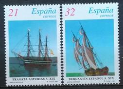 ESPAÑA 1997. Barcos De época. Sellos De Hojitas. NUEVO - MNH ** - 1931-Today: 2nd Rep - ... Juan Carlos I