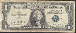 U.S.A.  P419  1 DOLLAR  1957 VG TAPE - Silver Certificates (1928-1957)