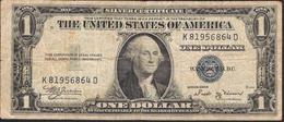 U.S.A.    1 DOLLAR  1935B FINE NO P.h. ! - Silver Certificates (1928-1957)