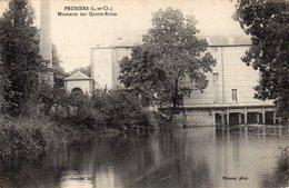 CPA DE 1916 - 41 - PRUNIERS - MINOTERIE DES QUATRE-ROUES - Autres Communes