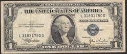U.S.A.    1 DOLLAR  1935C FINE NO P.h. ! - Silver Certificates (1928-1957)