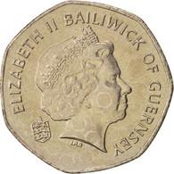 Guernsey, Elizabeth II, 20 Pence, 2003, SPL, Copper-nickel, KM:90 - Guernesey