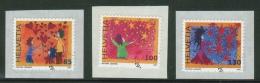 Suisse // Schweiz// Switzerland// 2007  // Voeux , Oblitéré 1er Jour  No. 1244-1246 - Used Stamps