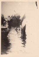 Photo Guerre WWII Bateau à Toulon Petit Rang Torpilleur Curieuse Chamois Tramontane - Guerre, Militaire