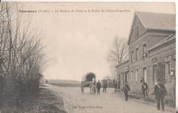 76 Sommery  Le Bureau De Poste Et La Route De Sainte Genevieve - France