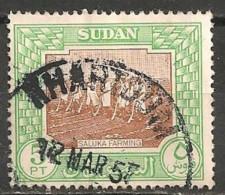 Timbres - Afrique - Soudan - 1957 - 5 PT - - Soudan (1954-...)