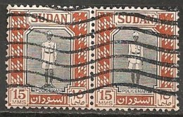 Timbres - Afrique - Soudan - 1957 - 2 X 15 MMS - - Soudan (1954-...)