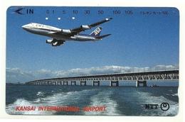 Giappone - Tessera Telefonica Da 105 Units T170 - NTT, - Avions