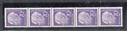 Bund  Rollenmarke    263 W ** Postfrisch  Mit Nr. 5er Streifen - [7] Repubblica Federale
