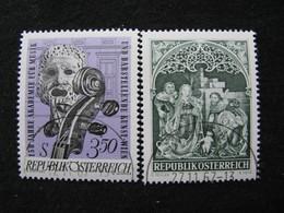 Österreich  1253 - 1254  O - 1945-.... 2de Republiek
