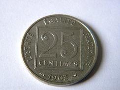 FRANCE - 25 CENTIMES PATEY 1903. - Francia