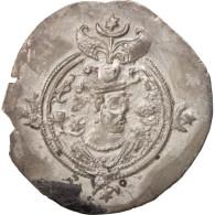 Xusros II, Drachm, 630 AD, TTB+, Argent - Orientales